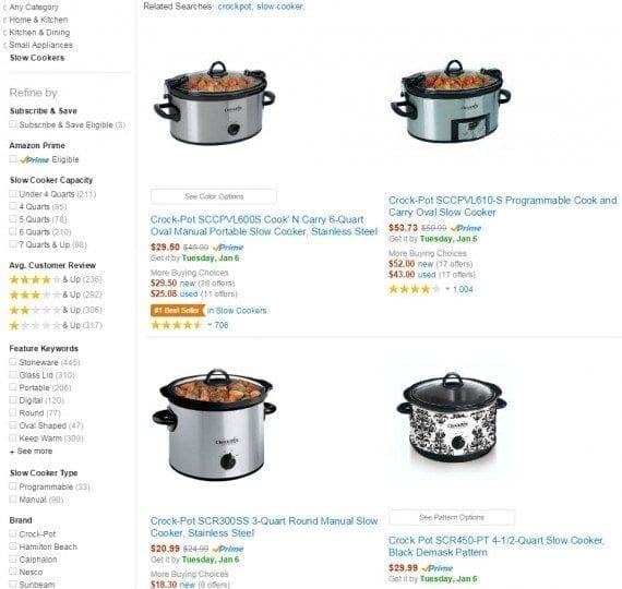 Way more than clothing: Cookware also comes in various sizes and styles — i.e., round, oval, programmable. <em>Source: Amazon.</em>