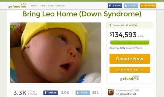 This ecommerce-enabled GoFundMe page helped Leo and Samuel Forrest raise the money they needed to move to New Zealand.