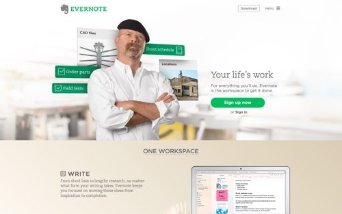 Evernote.