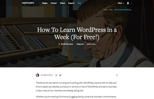 How To Learn WordPress in a Week (For Free!)