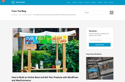 How to Build an Online Store and Sell Your Products with WordPress and WooCommerce.