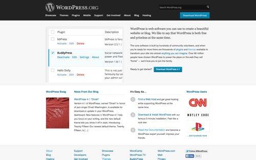 WordPress.org.