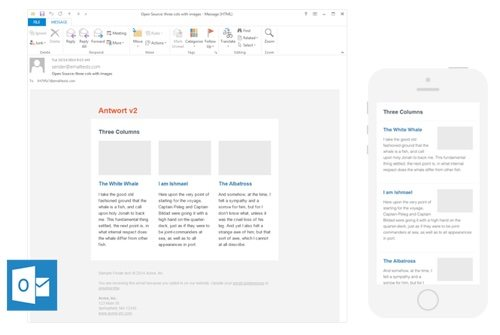 28 Free Responsive Email Templates – Responsive Email Template
