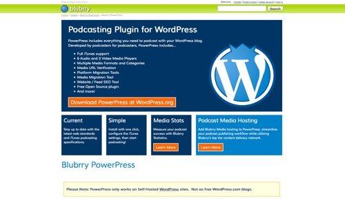 Blubrry PowerPress.