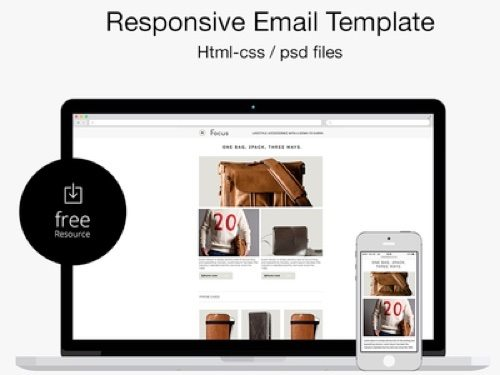 Responsive Email Template by Marco Lopes.