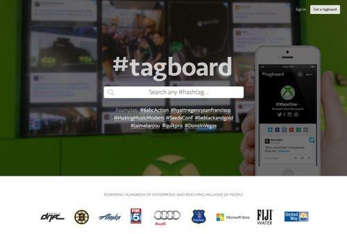 Tagboard.