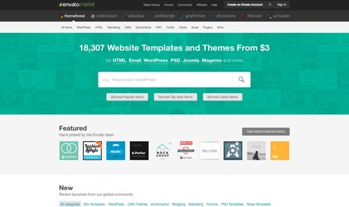 10 Sites For Themes Templates And Plugins