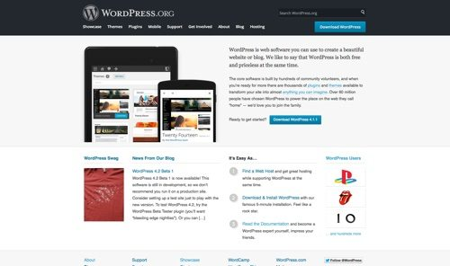 WordPress.org.