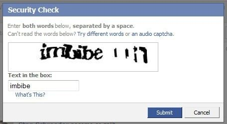 Even reCAPTCHA has its problems. Can you figure out the entire string? (Source: Mashable)
