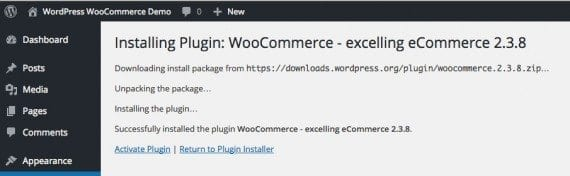 Since you changed ownership of the WordPress folders, you do not need FTP credentials to install WooCommerce.