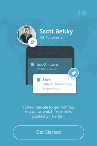 Twitter acquired Periscope in January. Periscope launched shortly after Meerkat.