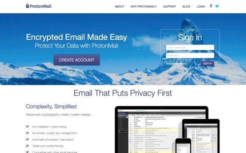 ProtonMail.