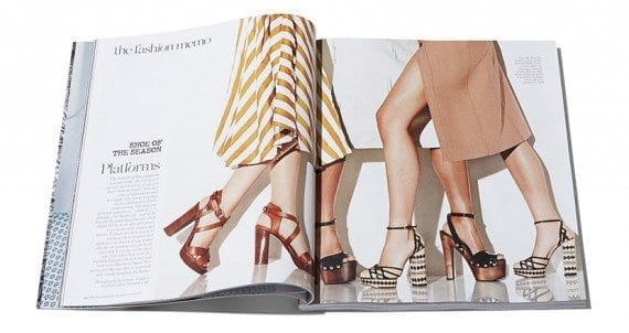 Net-A-Porter has launched its own print magazine to help inspire fashion shopping.