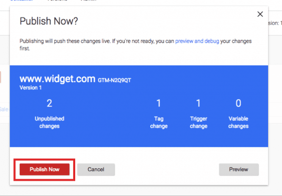 """Click """"Publish Now"""" and you're done."""