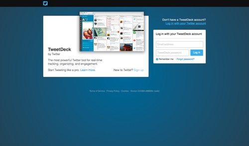 TweetDeck.