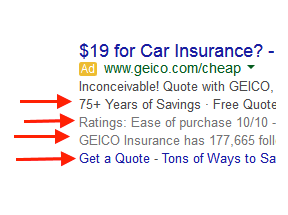 Using Ad Extensions in AdWords, Bing Ads to Boost Performance