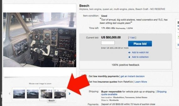Even basic auction listings on eBay will frequently have several good product images.