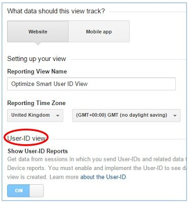 Select a Reporting Time Zone.