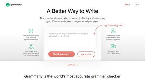 Grammarly.