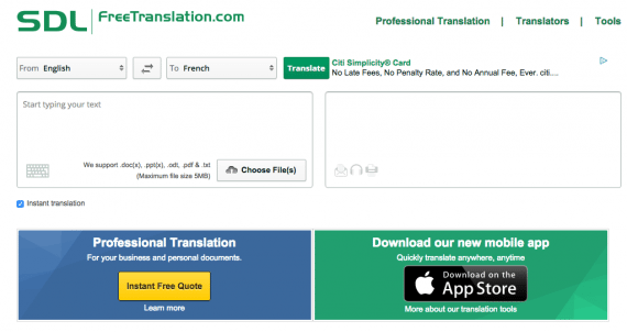 "SDL offers a machine-translation environment that utilizes ""translation memory."""