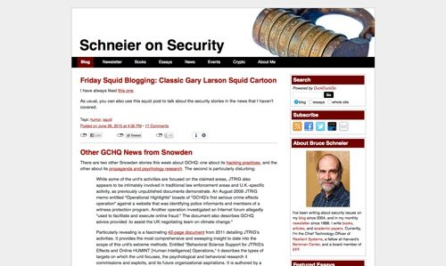 Schneier on Security.