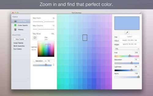The Color App.