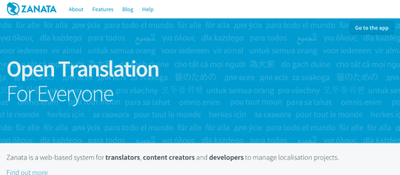 Zanata is a web-based system for translators, content creators, and developers.