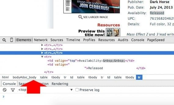 A web browser's development tools will often show the XPath.
