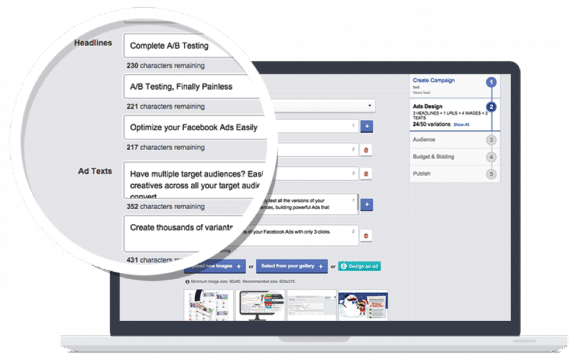 AdEspresso specializes in Facebook ads.