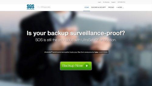 SOS Online Backup.