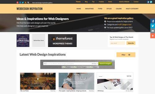 Webdesign Inspiration.