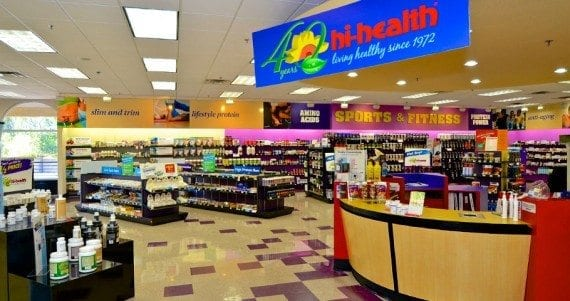 Hi-Health's Arcadia store.