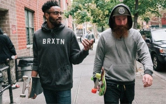 Brixton's lookbook for men is a good example of how lookbooks help to promote your products.