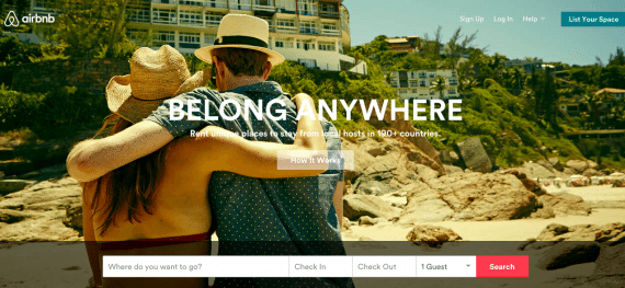 Airbnb has received seven rounds of funding totaling $2.3 billion.