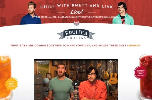 Chill With Rhett And Link Website.