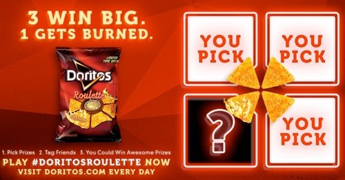 Doritos Roulette Game.