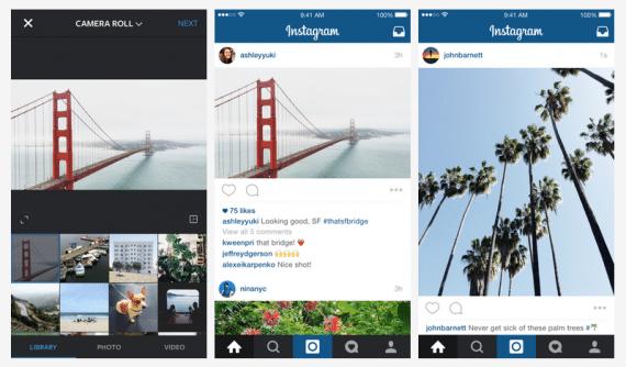 Nearly all Instagram users access it from their smartphones. Ninety-five percent of users are younger than 35.