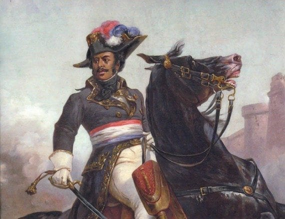 One of the movie-worthy historical figures that Listverse described was Thomas-Alexandre Dumas, the father of author Alexandre Dumas, who wrote The Three Musketeers. The elder Dumas was a Haitian swashbuckler.