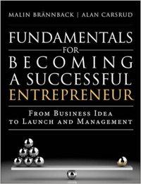 Fundamentals for Becoming a Successful Entrepreneur.