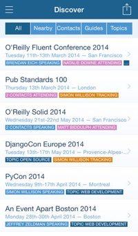 Lanyrd App.