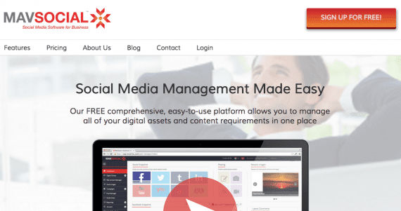 MavSocial is one of many social media management tool to post across multiple sites.