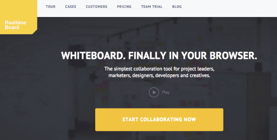 Realtime Board is one of many platforms to facilitate collaboration.