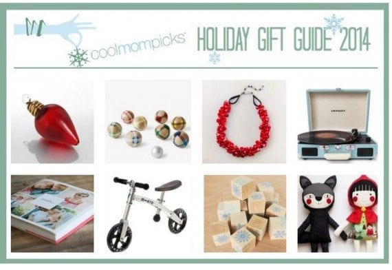 A holiday present beam on CoolMomPicks.com.