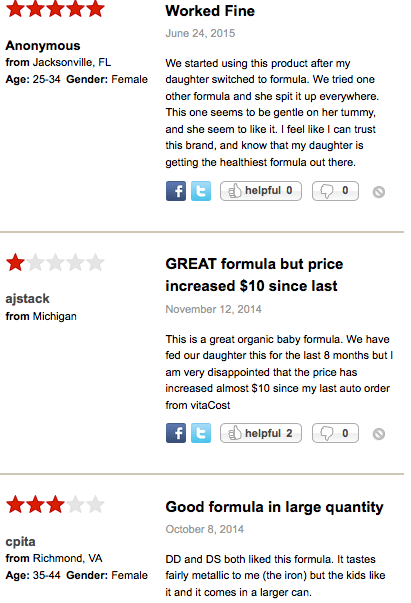 Baby products are usually researched heavily, as indicated by these reviews.