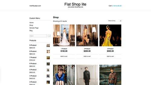 Flat Shop lite.