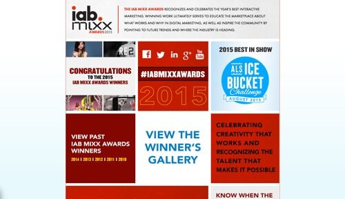 IAB Mixx Awards.