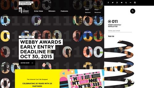 The Webby Awards.