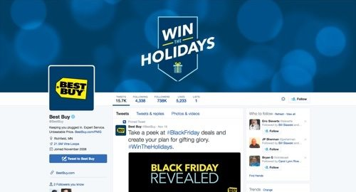 Best Buy on Twitter.