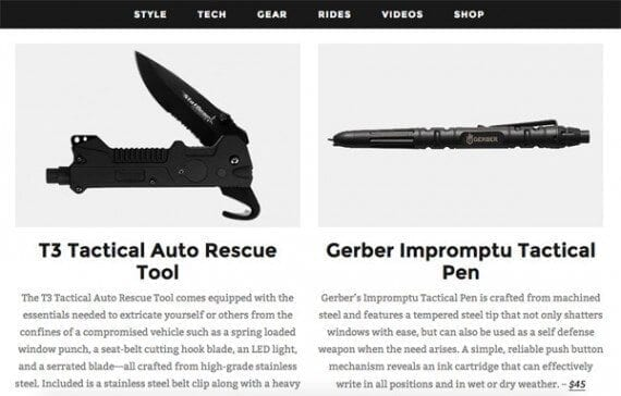 The new year can be a good time to show off new products with gear guides that last all year long.