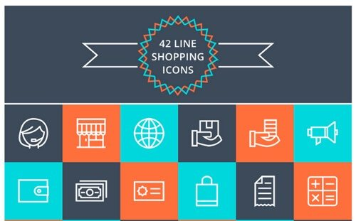 Free Shopping Icons.